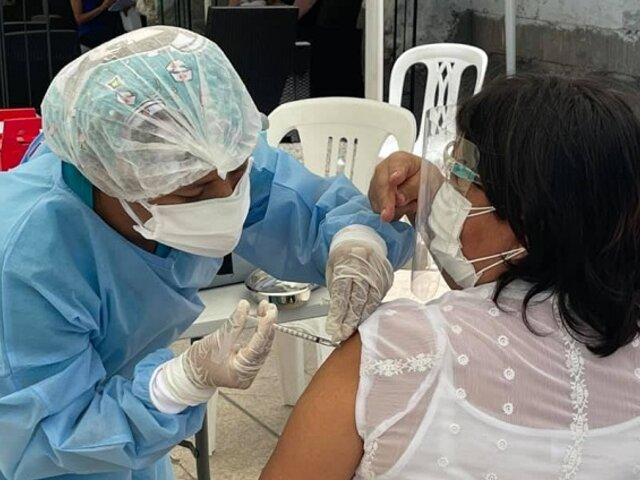 Vacuna Covid-19: más de tres millones 453 mil peruanos ya recibieron dosis