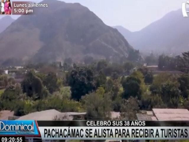 Pachacámac: Turistas podrán disfrutar de principales centros turísticos por su 38 aniversario