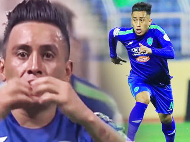 Christian Cueva anotó nuevamente para Al Fateh