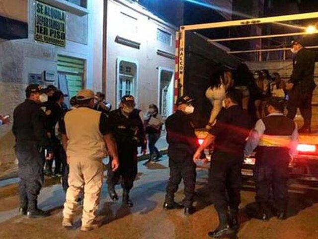Chiclayo: intervienen a tres sujetos que explotaban sexualmente a extranjeras