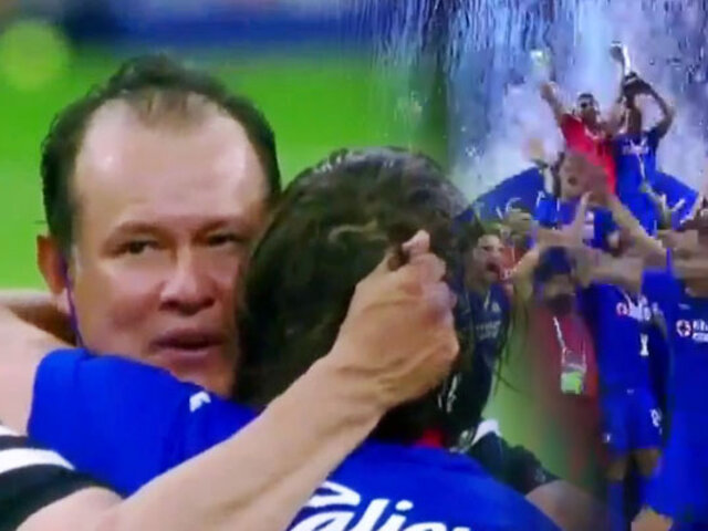 Cruz Azul campeón de la mano de Juan Reynoso después de 23 años