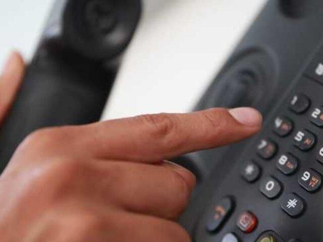 Multas por llamadas falsas a centrales de emergencia superan los S/ 4 millones