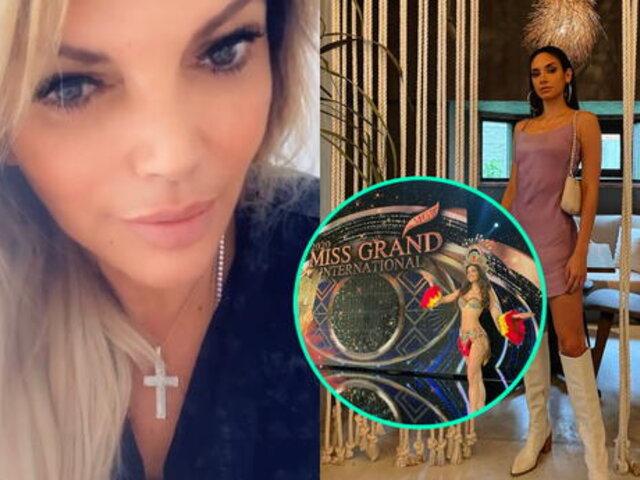 Jessica Newton separa a Maricielo Gamarra del Miss Perú por asistir a fiesta en plena pandemia