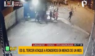 Lurigancho-Chosica: sicarios atacan a balazos a ronderos y dejan seis heridos