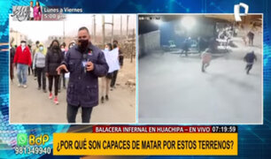 Balacera en Lurigancho-Chosica: comuneros son atacados por tercera vez por disputa de terrenos
