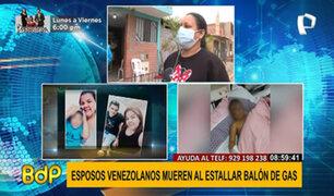 Comas: explosión de gas causa la muerte de dos extranjeros y dejan a su hijo huérfano