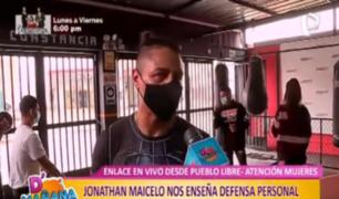 Defensa personal: Maicelo nos enseña cómo reaccionar ante un robo o asalto