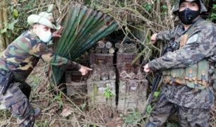 Alto Cenepa: Hallan arsenal de guerra después de 26 años del conflicto armado