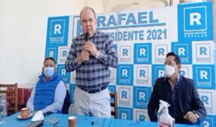 """Rafael López Aliaga: """"No soy fujimorista, pero tengo que dar un voto responsable"""""""