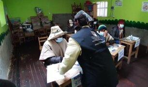 ONPE: personal especializado capacitó  en idioma quechua a miembros de mesa en el Cusco