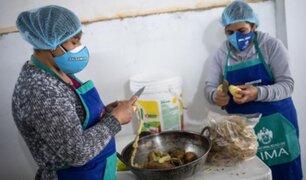 MML y el Midis firman convenio para apoyar con alimentos y capacitación a mujeres de las ollas comunes