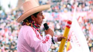 Pedro Castillo se rectificó sobre los feminicidios y realizará una cruzada nacional