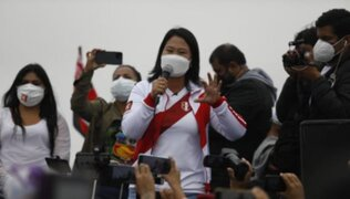 Keiko Fujimori cerrará su campaña electoral en Villa El Salvador