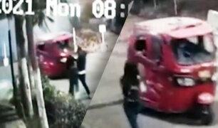 SMP: adolescente es asaltada por delincuentes en mototaxi