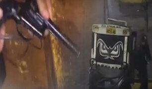 Policías y serenos capturan banda de cogoteros con armas de fuego en El Agustino