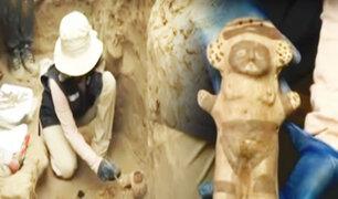 Puente Piedra: hallan restos prehispánicos durante excavaciones para instalación de gas