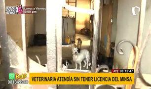 Ate Vitarte: falsos veterinarios usaban medicinas vencidas y en mal estado