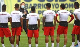Perú vs. Colombia: este es el once titular que probó Ricardo Gareca a un día del partido