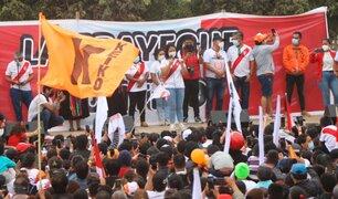 Elecciones 2021: Keiko Fujimori pide a chiclayanos cuidar el voto
