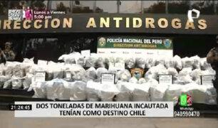 Policía Nacional y el Ejército incautaron más de dos toneladas de droga en Puno