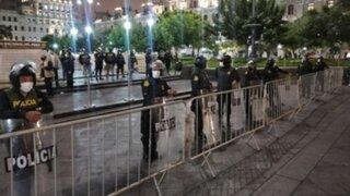 PNP cerrará Plaza San Martín para evitar mitines de fin de campaña