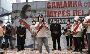 Elecciones 2021: Keiko Fujimori reiteró sus disculpas al país por los errores que cometió