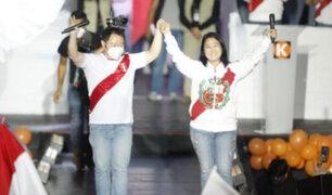 """Keiko Fujimori cerró su campaña electoral en VES: """"Estoy contenta y agradecida con el Perú"""""""