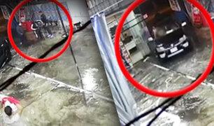 """Delincuentes armados roban camioneta en un """"carwash"""" de SMP"""