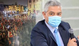 Elice lamenta mítines de cierre convocados por candidatos en plena pandemia