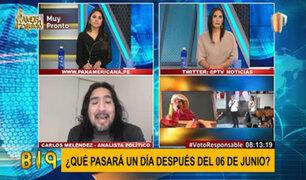 """Meléndez sobre campaña para la segunda vuelta: """"se han dedicado a resaltar las fallas del rival"""""""