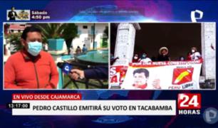 Cajamarca: Tacabamba se alista para recibir a Pedro Castillo este domingo