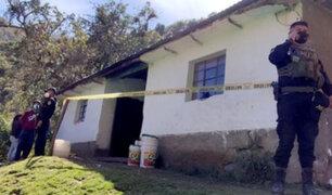 Apurímac: hombre toma veneno tras acabar con la vida de su esposa y su menor hijo