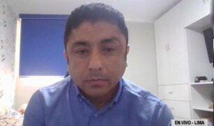 Caso Bermejo: piden impedimento de salida y comparecencia con restricciones para electo congresista