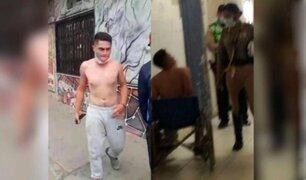 Tumbes: extranjero intentó apuñalar a policías  que trataban de intervenirlo