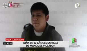 Policía Nacional salvó a menor de ser víctima de violación en VES