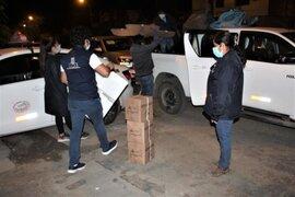 ONPE inició distribución del material electoral a los centros de votación en Lima y Callao