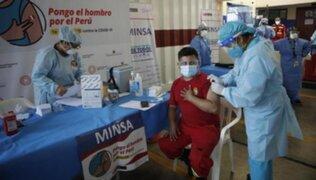Minsa envía más de 62 mil vacunas contra el COVID-19 para bomberos y ancianos de Huánuco