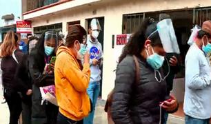 SJM: decenas de personas hicieron largas filas en Reniec para recoger su DNI