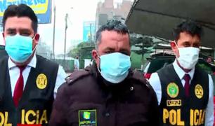 Detienen a falso médico en Lima Norte