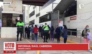 Segunda vuelta en Cusco: ONPE realiza estricto control de protocolos sanitarios en UNSAAC