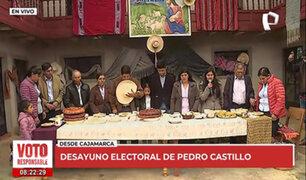 """Pedro Castillo: """"hemos herido algunas susceptibilidades, estamos para pedir disculpas"""""""