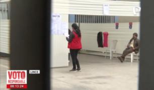 Lince: electores se levantan temprano para acudir a las urnas y emitir su voto