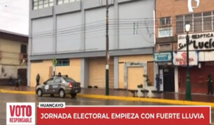 Huancayo: este es el panorama en la ciudad durante segunda vuelta electoral