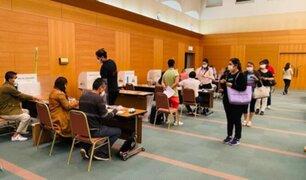 Peruanos en el extranjero ya participan este domingo de segunda vuelta electoral