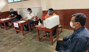 En Arequipa se instaló la primera mesa de sufragio a nivel nacional
