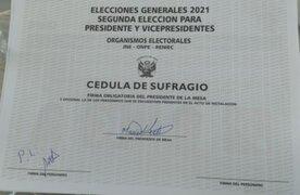 Chiclayo: detienen a personera de Perú Libre tras firmar 256 cédulas