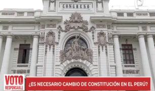 Retos del próximo gobierno: ¿Es necesario el cambio de Constitución en el Perú?