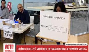 Elecciones 2021: voto de los peruanos en el extranjero será decisivo