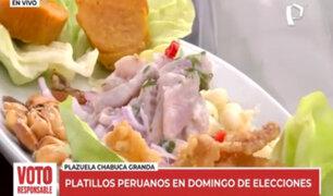 Ruta gastronómica: estos son los más ricos platillos peruanos en domingo de elecciones