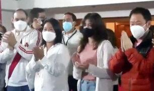 Segunda vuelta: así recibió Keiko Fujimori los resultados a boca de urna